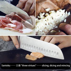 couteau japonais santoku sky light avis test