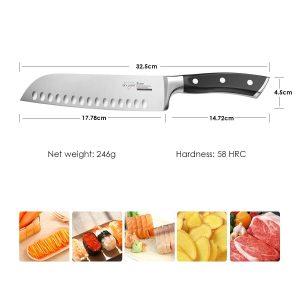 couteau japonais santoku sky light test avis